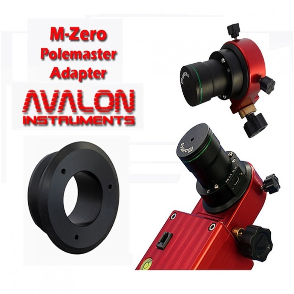 Avalon QHY polemaster adapter for M-Zero mount